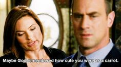 "And memorably adorable. | Community Post: Why You'll Never Get Over Benson And Stabler From ""Law And Order"""
