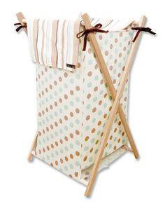 Trend Lab Morgan the Monkey Hamper Set - 21548 - Hampers - Bed & Bath