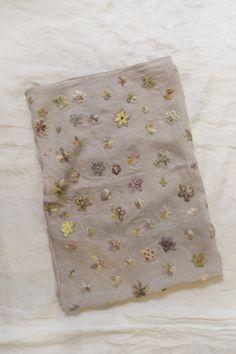 Sophie Digard blanket w/crocheted flowers. so so so beautiful.