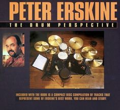 MODUS VIVENDI: Peter Erskine - 1998 - The Drum Perspective Peter Erskine, Compact Disc, Drums, Perspective, Drum Sets, Drum, Drum Kit, Point Of View