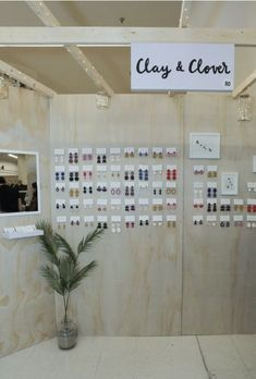 Clay + Clover Vendor Displays, Display Ideas, Photo Wall, Clay, Frame, Home Decor, Clays, Picture Frame, Photograph
