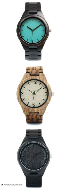 High-quality watches for men made from 100% real wood | www.arborcouture.com | men's watches wood, men's watches wood products, men's watches wood leather, men's watches wood unique, men's watches wood style, men's watches wood anniversary gifts, men's wa