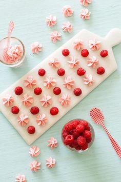 Bite-Size Raspberry Candy Melts