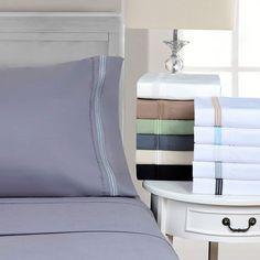 Superior Wrinkle Resistant Deep Pocket Sheet Set