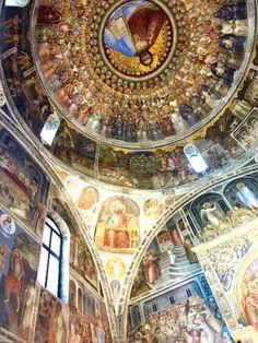 Padua Baptistery, Padua, Italy.