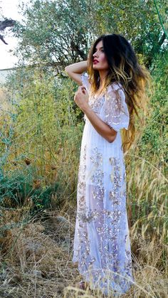 Maybe one day I can make this dress. It is a vintage Spanish dress that was found in a market in Spain. Oh, to dream!
