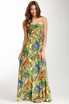 VOOM by Joy Han Avery Strapless Maxi Dress by VOOM and James & Joy on @HauteLook