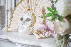 """Венецианская карнавальная, интерьерная маска """"Snow Qween"""" – купить в интернет-магазине на Ярмарке Мастеров с доставкой"""
