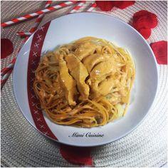 lamelles de poulet sauce mascarpone à la tomate