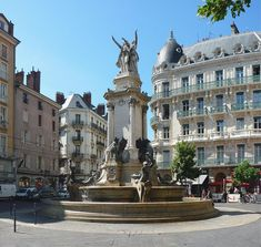 Grenoble, France A lovely city with a vibrant immigrant culture and many cafe filled squares. I'd like to return someday.
