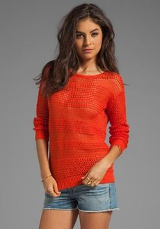 Joie Resi Sweater in Spicy Orange