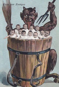 20 Creepy Krampus Cards To Get You In The Holiday Spirit - The ...
