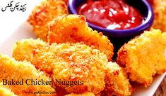 Today we are going to share spicy baked chicken nuggets, as you know chicken nuggets are generally regarded as a fatty, unhealthy food. Nutritionists agre..