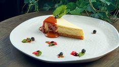 Nepečený cheesecake s karamelovou omáčkou | Recepty.sk
