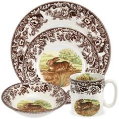 Spode® Woodland Rabbit Dinnerware Collection - BedBathandBeyond.com