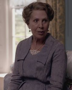Isobel Crawley (née Turnbull; b. between 1853 and 1862) is the widow of medical doctor Reginald Crawley, mother of her only son the late Matthew Crawley, the mother-in-law of Lady Mary Crawley, and grandmother of George Crawley.