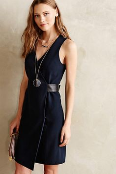 Brontide Wrap Dress #anthropologie