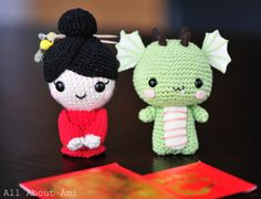 Chinese New Year amigurumi patterns -- dragon and CNY doll please? T_T