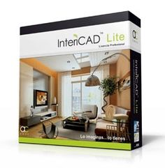 INTERICAD LITE   A professional and yet easy-to-use #3Ddesign software involved in the interior design field. No #CAD knowledge is required. From 2D floor plan to real 3D image and animation, #InteriCAD Lite provides a fast way and various forms to present your design idea to your clients.