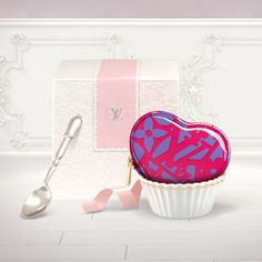 The Louis Vuitton Sweet Monogram Coeur coin purse with its heart shape, bright colors and practical features make it a perfect gift for Valentines Day. | See more about coin purses, heart shapes and bright colors. | See more about coin purses, heart shapes and bright colors.