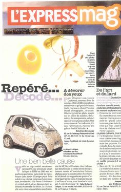 L'Express N°2749 8 Mars 2004 Car by on aura tout vu