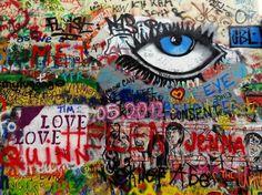 Olhares.com Fotografia   Sérgio Veludo   Lennon wall #3