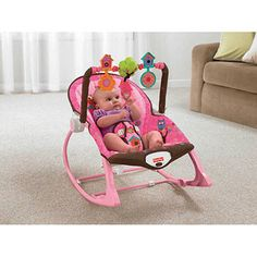 Fisher-Price Infant to Toddler Rocker Sleeper, Pink Owls Cyber Monday Black Friday Walmart Toddler Rocking Chair, Baby Rocker, Baby Girl Bassinet, Baby Bouncer, Fisher Price, Rock And Play, Rock N Play Sleeper, Pink Owl, Baby Owls