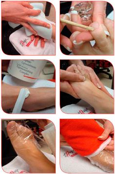 Cold paraffin for feet step by step 5-10