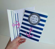 Nautical Baby Girl Shower Invitation by IdAndEgoCreations on Etsy, $27.50