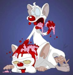 Zombie Pinky and the Brain
