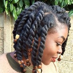 50 cute natural hairstyles for Afro-textured hair - Natural Hair Styles Cute Natural Hairstyles, Natural Hair Braids, Natural Hair Growth, Twist Hairstyles, Trendy Hairstyles, Protective Hairstyles, African Hairstyles, Black Hairstyles, Protective Styles