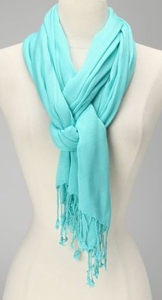 Turquoise Scarf