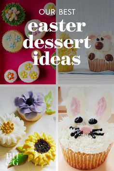 Our collection of cute Easter desserts, includes egg-shaped Easter cookie recipes, Easter cheesecakes, and several twists on carrot cake. #easterdessert #dessertrecipes #eastercakeideas #bhg