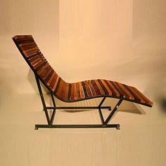 Lumber Yard Chaise now featured on Fab.