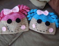 Crochet el sombrero de Lalaloopsy Lalaloopsy por MadeByJoJo89
