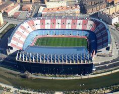Estadio Vicente Calderón en Madrid, Madrid