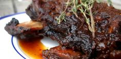 Paleo Crockpot Coffee Ancho Chile Short Ribs