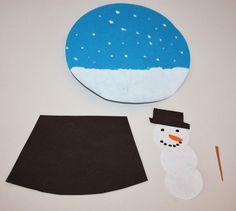 klassenkunst schneekugeln aus papier kunst unterstufe ideen pinterest. Black Bedroom Furniture Sets. Home Design Ideas