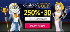 CASHISQUEEN Bonus Coupon from Cool Cat Casino