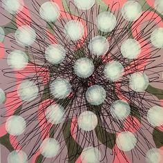JON COFFELT - Pink and Metallic Silver Burst