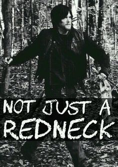 No he isn't. . . he's soooo much more.   Daryl Dixon  (aka Norman Reedus)