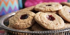 Damaris Phillips' Peanut Butter and Jelly Cookies Recipes | Food Network Canada