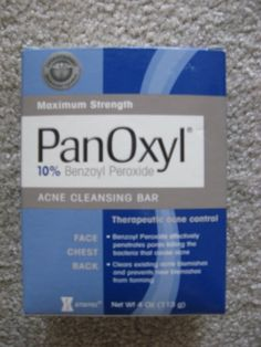 PanOxyl Bar 10 4 oz 1 Bar >>> Check this awesome product by going to the link at the image. (This is an affiliate link) Facial Bar, Facial Scrubs, Types Of Facials, Acne Control, Acne Blemishes, Benzoyl Peroxide, How To Treat Acne, Face Cleanser, Best Face Products