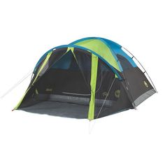 Coleman has a variety of tents for camping. The Coleman® Carlsbad™ Dome Tent with Screen Room blocks of sunlight to keep the tent darker. Camping Diy, Best Tents For Camping, Tent Camping, Camping Hacks, Camping Gear, Outdoor Camping, Camping Tools, Truck Camping, Camping Supplies