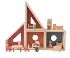 EGMONT Doll House Modern - The Mini Manor & Co