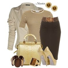 Designer Clothes, Shoes & Bags for Women I Love Fashion, Work Fashion, Latest Fashion Clothes, Women's Fashion Dresses, Daily Fashion, Womens Fashion, Classy Outfits, Chic Outfits, Pretty Outfits