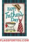Happy Father's Day Garden Flag