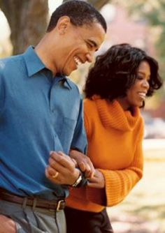 President Barack Obama With Oprah Winfrey....  Senate Years...