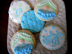 It's a baby boy collection cookies!