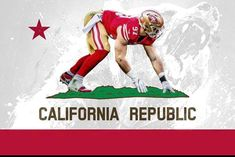 A community for fans of the San Francisco Go Niners! Sf Niners, Nfc West, Nfl Football Players, Football Hall Of Fame, Skull Wallpaper, Nfl News, Football Program, Ohio State University, Great Team